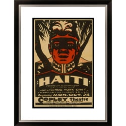 Gallery Direct William Du Bois 'Haiti A Drama of the Black Napoleon' Framed Limited Edition Giclee Art