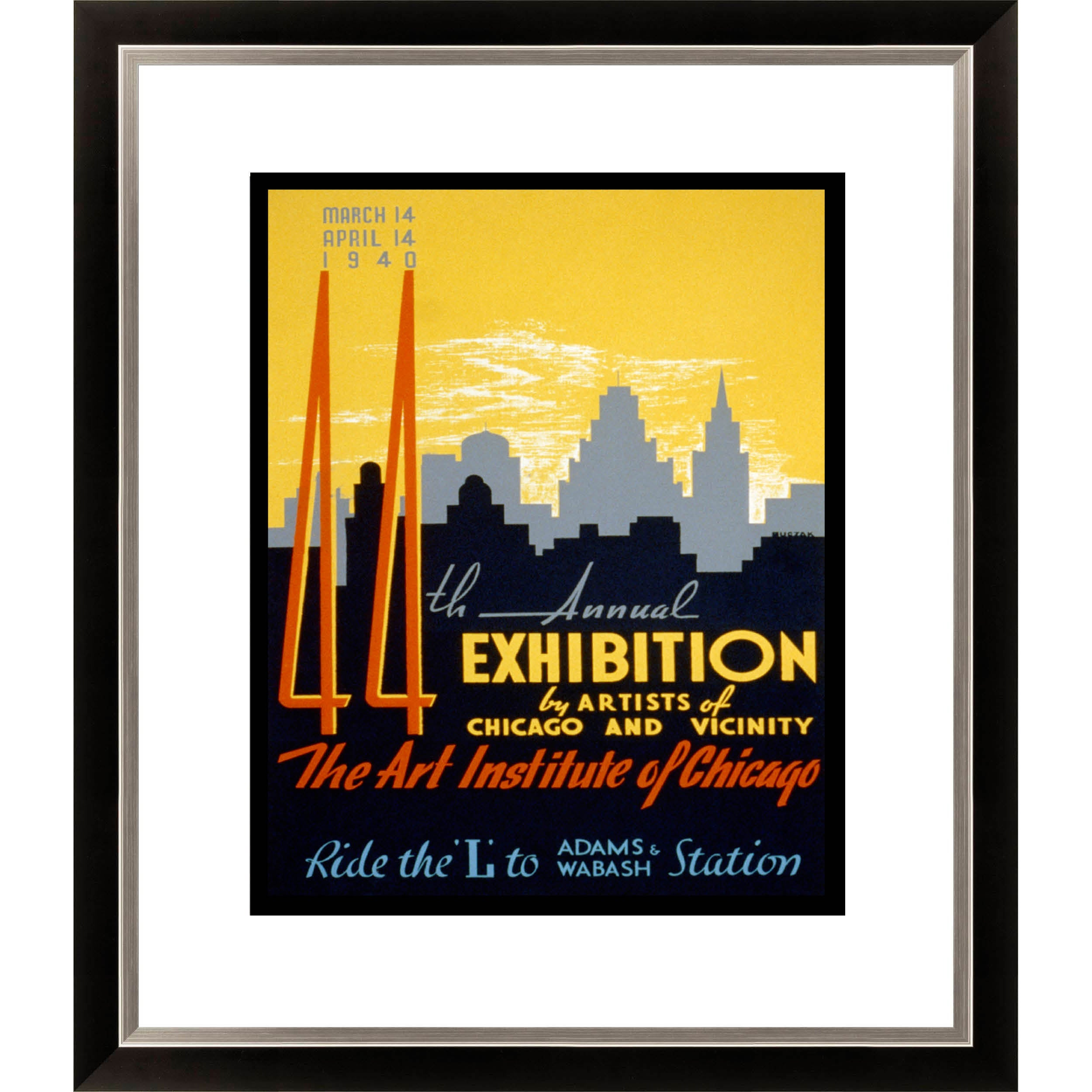 Gallery Direct '44th Annual Exhibition by Artists of Chicago' Framed Limited Edition Giclee