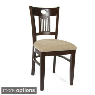 Violin Wood Dining Chairs (Set of 2)