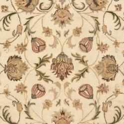 Safavieh Handmade Eden Ivory Hand-spun Wool Rug (8' x 10') - Thumbnail 2
