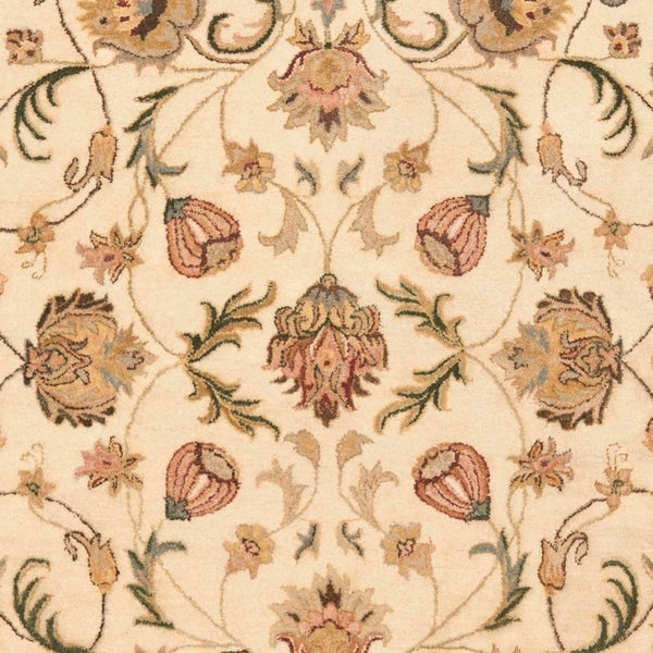 Safavieh Handmade Eden Ivory Hand-spun Wool Rug - 8' x 10'