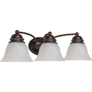 Laurel Creek Alma 3-light Old Bronze Vanity