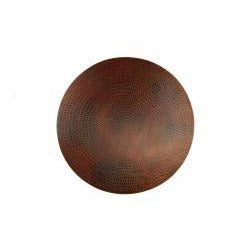 Premier Copper Products Hand-hammered Copper 18-inch Lazy Susan - Thumbnail 1