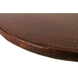 Premier Copper Products Hand-hammered Copper 18-inch Lazy Susan - Thumbnail 2