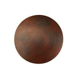 Premier Copper Products Hand-hammered Copper 20-inch Lazy Susan - Thumbnail 1