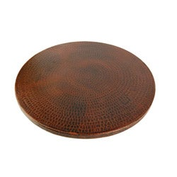 Premier Copper Products Hand-hammered Copper 20-inch Lazy Susan