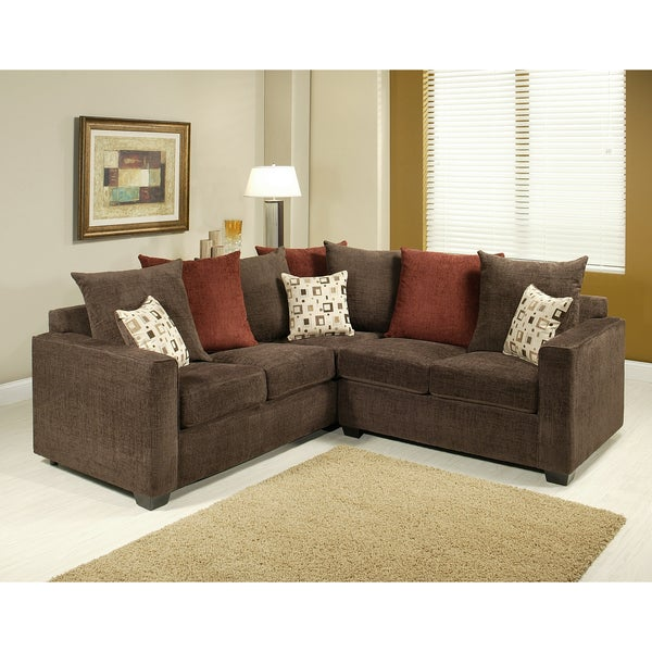 Shop Furniture Of America Evan 2 Piece Sectional Sofa Set