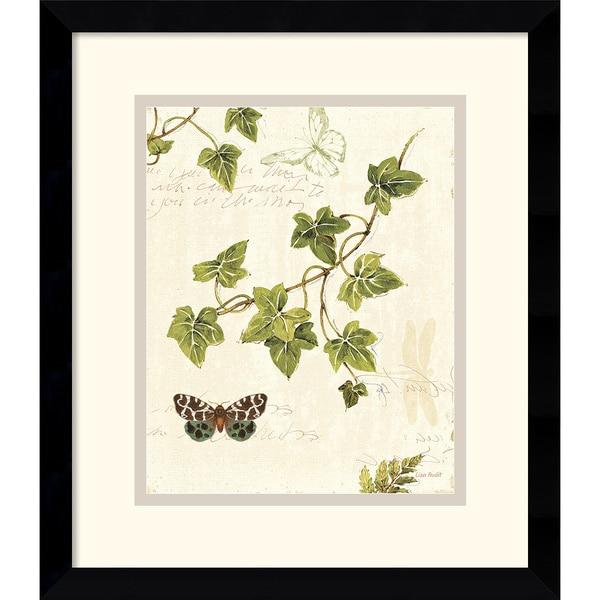 Lisa Audit 'Ivies and Ferns II' Framed Art Print