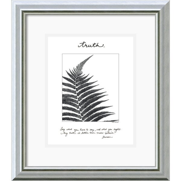 Debra Van Swearingen 'Truth' Framed Art Print
