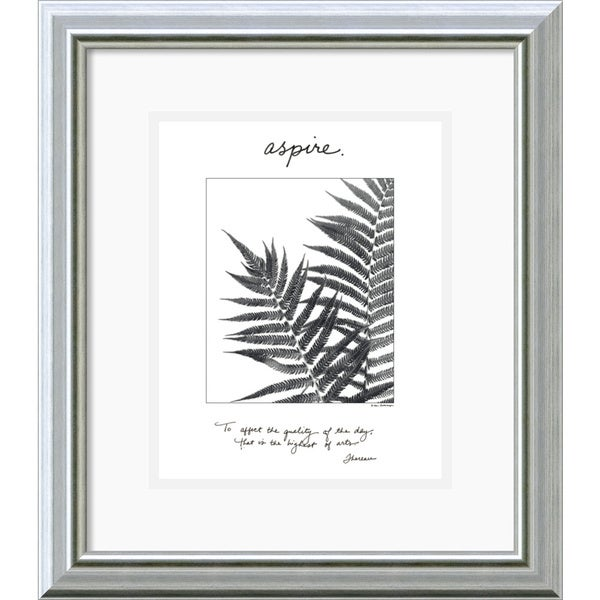 Debra Van Swearingen 'Aspire' Framed Art Print