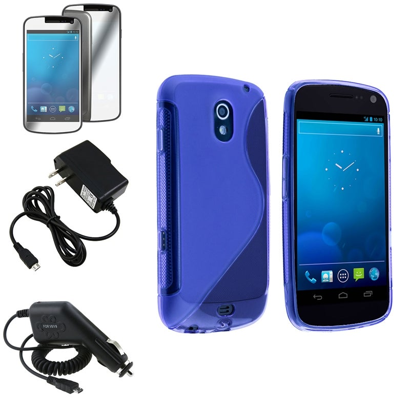 TPU Case/ Screen Protector/ Chargers for Samsung Galaxy Nexus 4G i9250