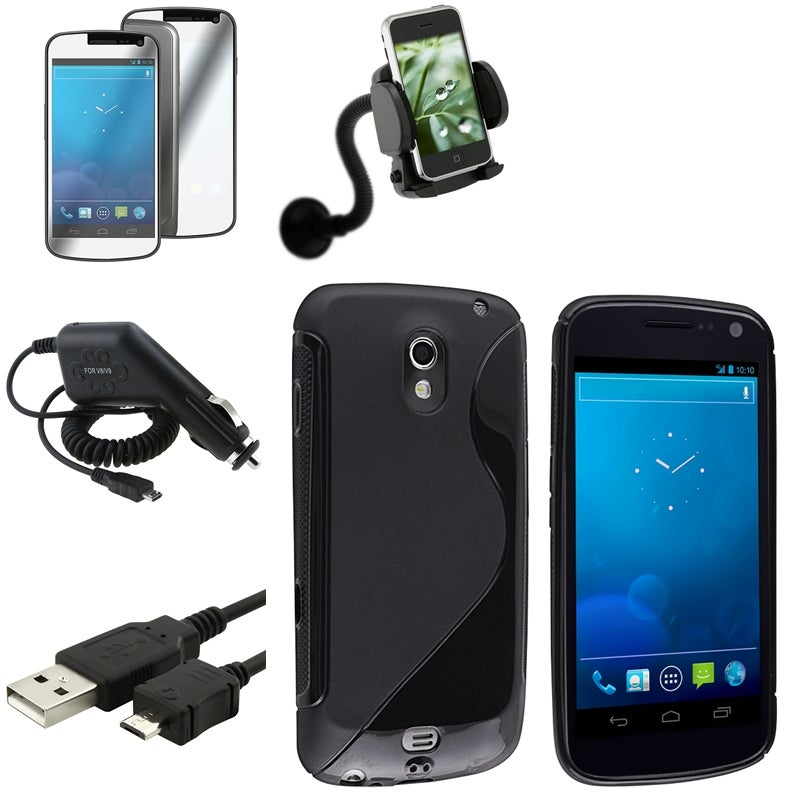 Case/ LCD Protector/ Chargers/ Mount for Samsung Galaxy Nexus 4G i9250