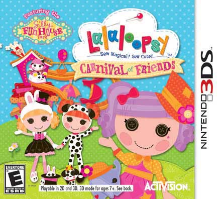 NinDS 3DS - Lalaloopsy Carnival of Friends