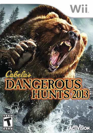 Wii - Cabela's Dangerous Hunts 2013