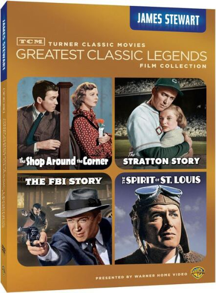 TCM Greatest Classic Films: Legends - James Stewart (DVD)