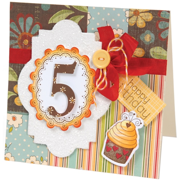 Sizzix Framelits Dies 4/Pkg With Stamps-Happy Birthday