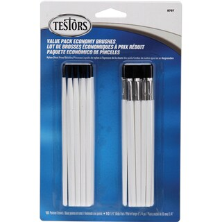 Economy Paint Brushes 20/Pkg
