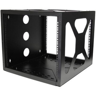 StarTech.com 8U Sideways Wall-Mount Rack for Servers - Side-Mount Ser
