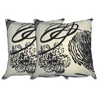 Decorative Polyester Accent Pillows (Set of 2)