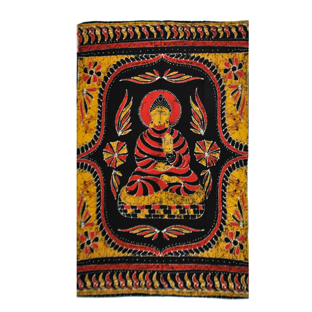 Meditating Buddha Tapestry (India)