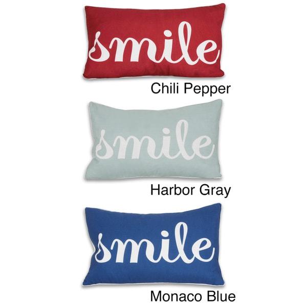 Smile Decorative Pillow