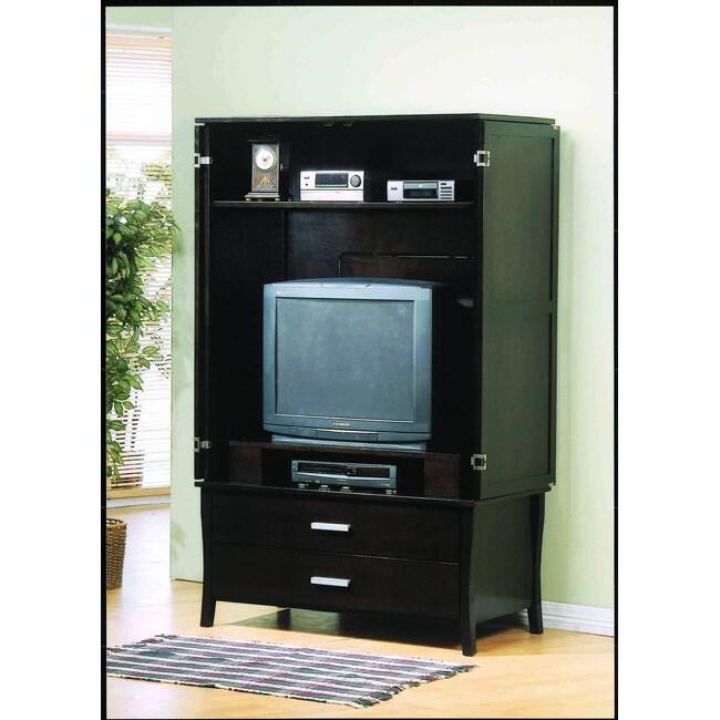 Cappuccino TV Armoire