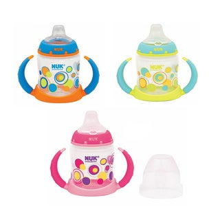 NUK Trendline Dots Silicone 5-ounce Learner Cup