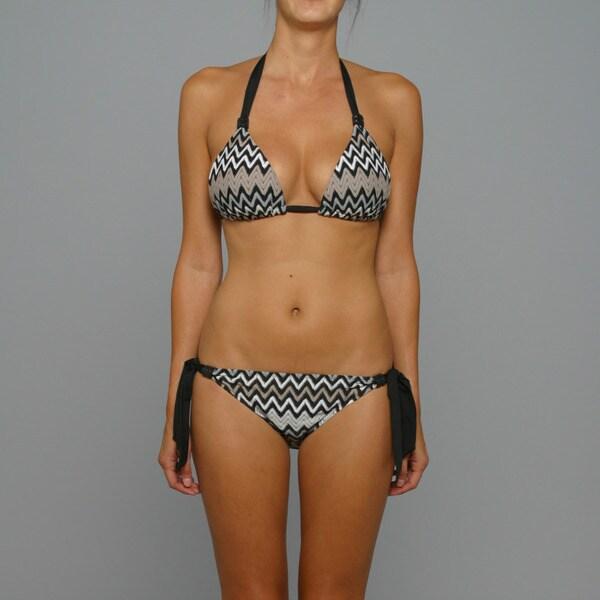 Perry Ellis Swim Women's 'Point in Time' Bikini