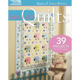 Leisure Arts-Baby & Kids Quilts