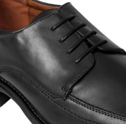 Scandro Footwear Men's Leather Square Toe Oxfords