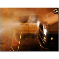 Yale Gurney 'Taxi' Canvas Art