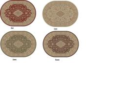 Empress Oriental Oval Rug (5'3 x 7'3) - Thumbnail 2
