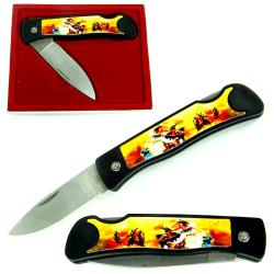 Collector's Series Indian Heritage Folding Pocket Knife (Set of 4) - Thumbnail 0