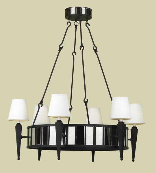 Indoor Cluny 6-light Chandelier