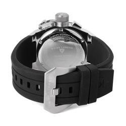 Swiss Legend Men's 'Trimix Diver' Black Silicone Chronograph Watch - Thumbnail 1