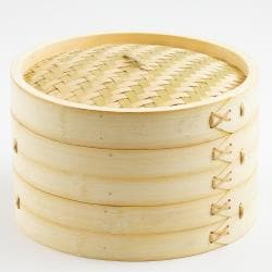 Bamboo 2-tier 10-inch Steamer
