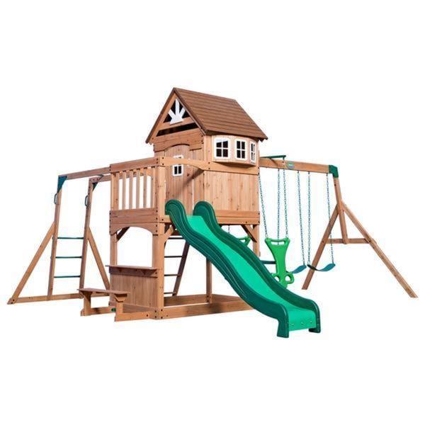 Backyard Discovery Montpelier All Cedar Swing Set - Free ...