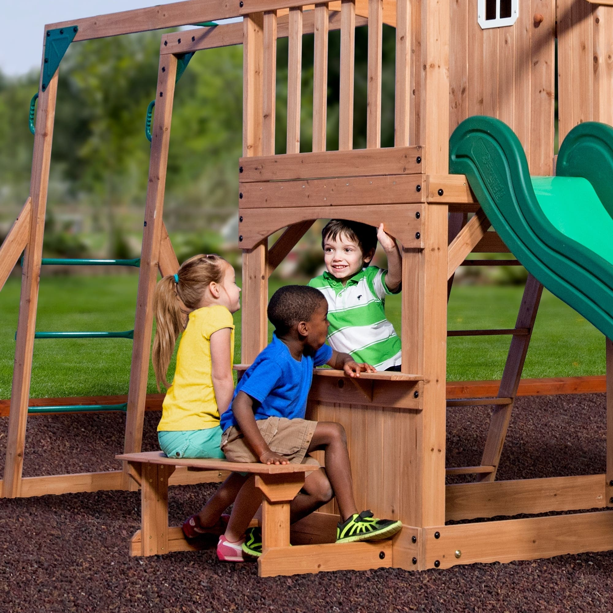Buy Swing Sets Online at Overstock | Our Best Outdoor Play ...