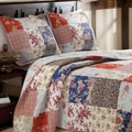 Greenland Home Fashions Amelia Quilted 3-piece Bedspread Set