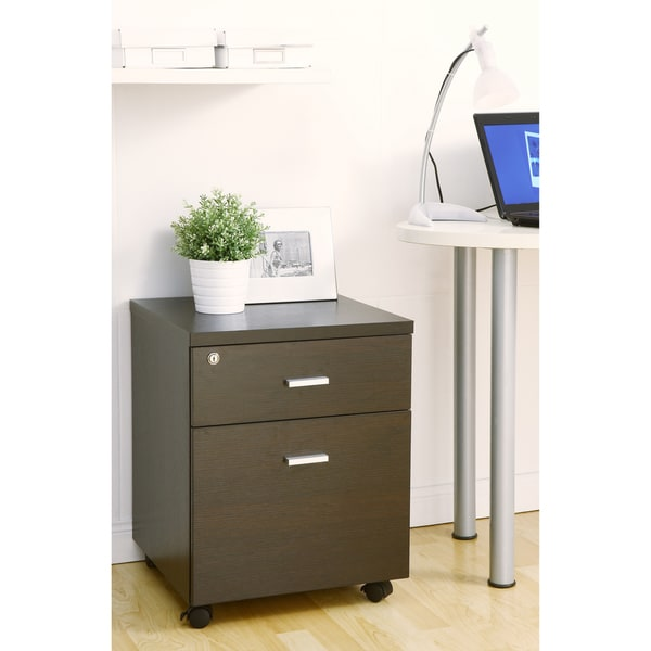 Furniture of America Studio 1-Drawer Rolling File Cabinet