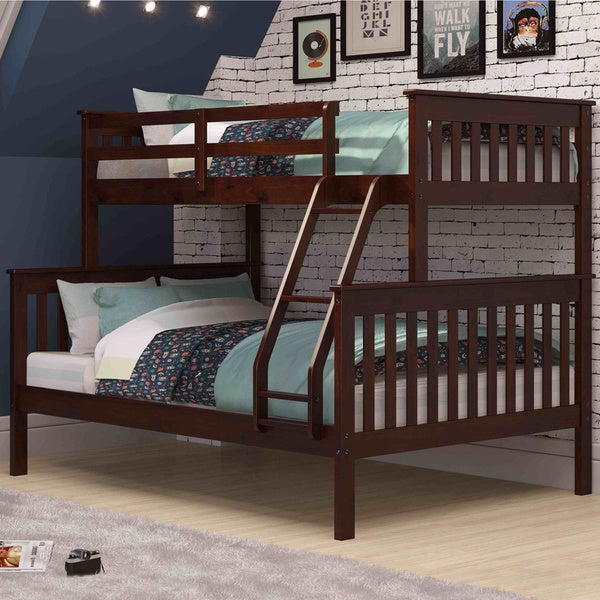 Shop Donco Kids Mission Twin Full Bunk Bed On Sale Free
