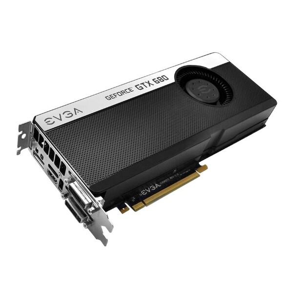 EVGA GeForce GTX 680 Graphic Card - 1.02 GHz Core - 4 GB GDDR5 - PCI