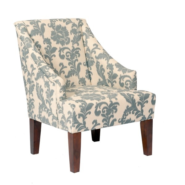 Gentil IKat Slate Fabric Accent Chair