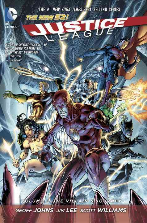 Justice League 2: The Villain's Journey (Hardcover)