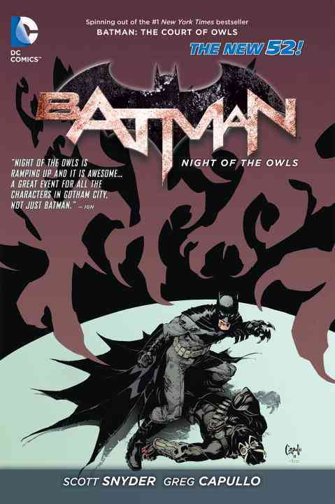 Batman: The Night of the Owls the New 52 (Hardcover)