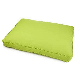 Sweet Dreams Indoor/ Outdoor Green Sunbrella Fabric Pet Bed