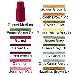 Garnet DMC Six Strand Embroidery Cotton 100 Gram Cone (More options available)