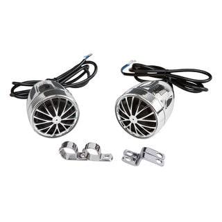 Pyle 400-Watt Motorcycle-Mount Weatherproof Speakers with Mounting Brackets