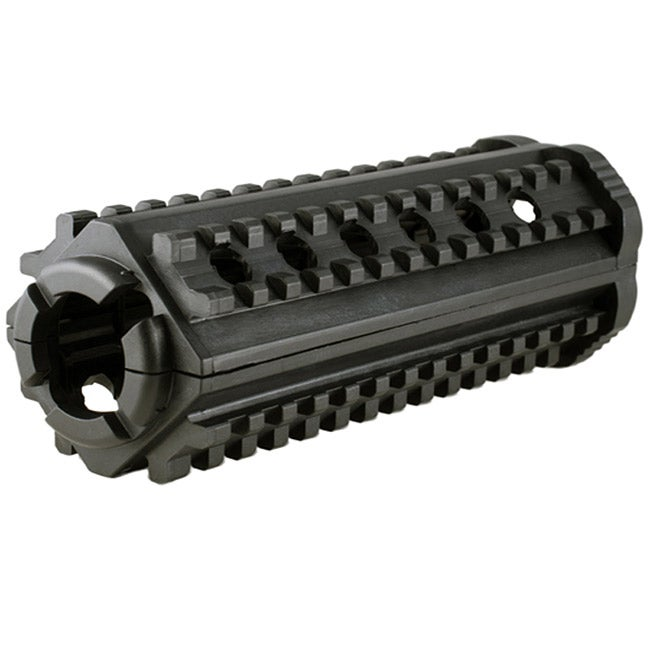 Classic AR15 MP 4 Sided Polymer M4 Rail in Black - Thumbnail 0