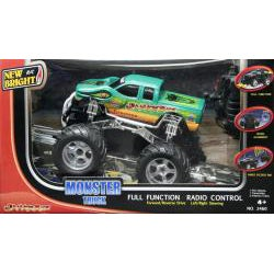 Snake Bite Green R/C Monster Truck - Thumbnail 1